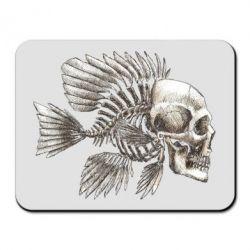 Коврик для мыши Рыба-череп