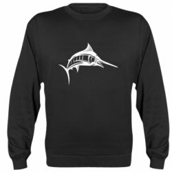 Реглан (свитшот) Рыба Марлин - FatLine