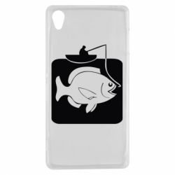 Чехол для Sony Xperia Z3 Рыба на крючке - FatLine