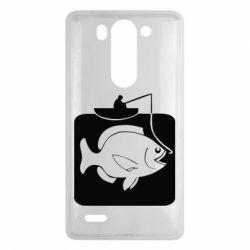Чехол для LG G3 mini/G3s Рыба на крючке - FatLine