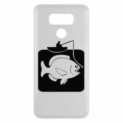 Чехол для LG G6 Рыба на крючке - FatLine