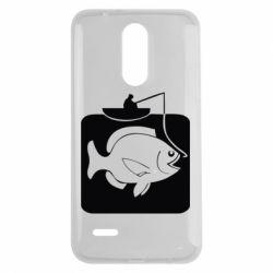 Чехол для LG K7 2017 Рыба на крючке - FatLine