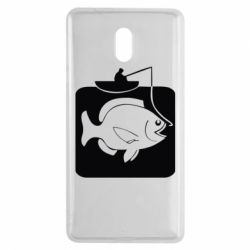 Чехол для Nokia 3 Рыба на крючке - FatLine