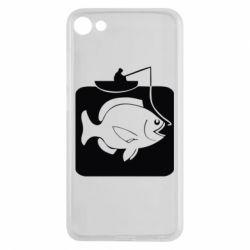 Чехол для Meizu U10 Рыба на крючке - FatLine