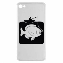 Чехол для Meizu U20 Рыба на крючке - FatLine