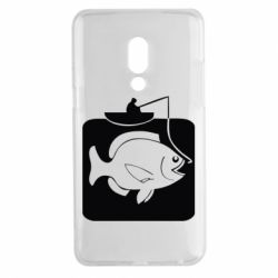 Чехол для Meizu 15 Plus Рыба на крючке - FatLine