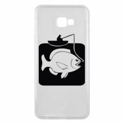 Чохол для Samsung J4 Plus 2018 Риба на гачку