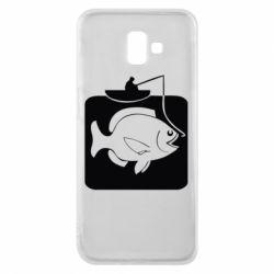 Чохол для Samsung J6 Plus 2018 Риба на гачку