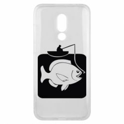Чехол для Meizu 16x Рыба на крючке - FatLine