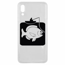 Чехол для Meizu E3 Рыба на крючке - FatLine