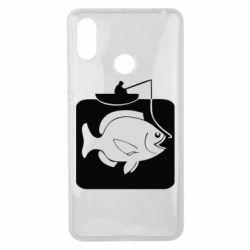 Чехол для Xiaomi Mi Max 3 Рыба на крючке - FatLine