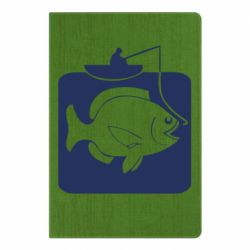 Блокнот А5 Риба на гачку