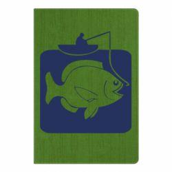 Блокнот А5 Рыба на крючке