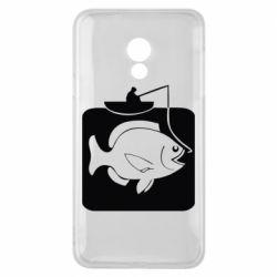 Чехол для Meizu 15 Lite Рыба на крючке - FatLine