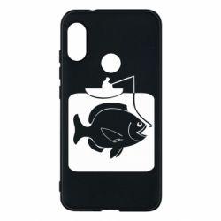 Чехол для Mi A2 Lite Рыба на крючке - FatLine