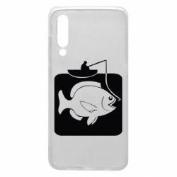 Чехол для Xiaomi Mi9 Рыба на крючке