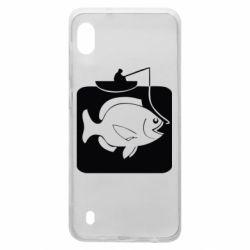 Чохол для Samsung A10 Риба на гачку