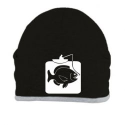 Шапка Рыба на крючке - FatLine