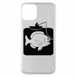 Чехол для iPhone 11 Рыба на крючке