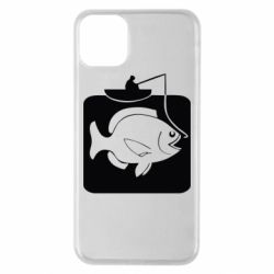 Чехол для iPhone 11 Pro Max Рыба на крючке