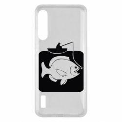 Чохол для Xiaomi Mi A3 Рыба на крючке