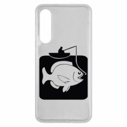 Чехол для Xiaomi Mi9 SE Рыба на крючке