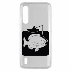 Чехол для Xiaomi Mi9 Lite Рыба на крючке