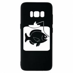 Чехол для Samsung S8 Рыба на крючке - FatLine