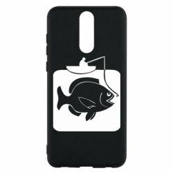 Чехол для Huawei Mate 10 Lite Рыба на крючке - FatLine