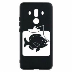 Чехол для Huawei Mate 10 Pro Рыба на крючке - FatLine