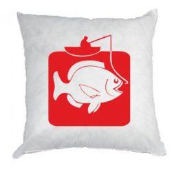 Подушка Рыба на крючке - FatLine
