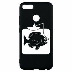 Чехол для Xiaomi Mi A1 Рыба на крючке