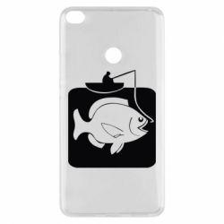 Чехол для Xiaomi Mi Max 2 Рыба на крючке - FatLine