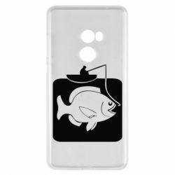 Чехол для Xiaomi Mi Mix 2 Рыба на крючке - FatLine