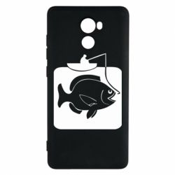 Чехол для Xiaomi Redmi 4 Рыба на крючке - FatLine