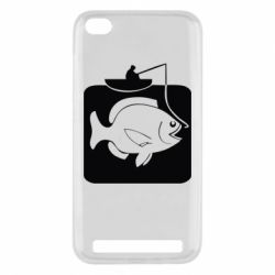 Чехол для Xiaomi Redmi 5a Рыба на крючке - FatLine