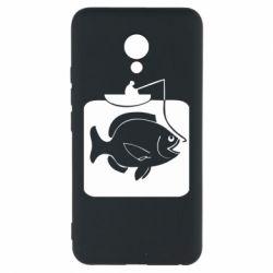 Чехол для Meizu M5 Рыба на крючке - FatLine