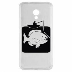 Чехол для Meizu M5s Рыба на крючке - FatLine