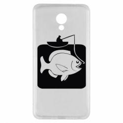 Чехол для Meizu M5 Note Рыба на крючке - FatLine