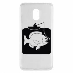 Чехол для Meizu M6 Рыба на крючке - FatLine