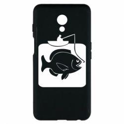 Чехол для Meizu M6s Рыба на крючке - FatLine