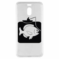 Чехол для Meizu M6 Note Рыба на крючке - FatLine