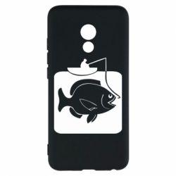 Чехол для Meizu Pro 6 Рыба на крючке - FatLine