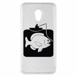 Чехол для Meizu Pro 6 Plus Рыба на крючке - FatLine