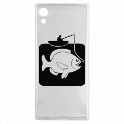 Чехол для Sony Xperia XA1 Рыба на крючке - FatLine