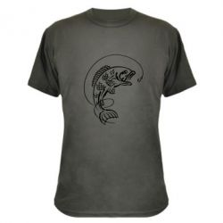 Камуфляжная футболка Рыба - FatLine