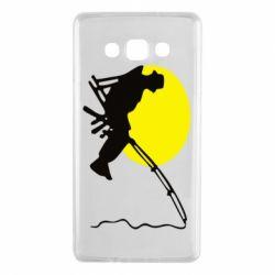 Чехол для Samsung A7 2015 Рыбак