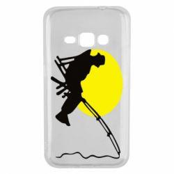 Чехол для Samsung J1 2016 Рыбак