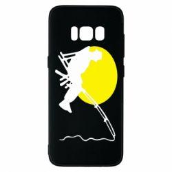 Чехол для Samsung S8 Рыбак