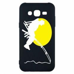 Чехол для Samsung J5 2015 Рыбак - FatLine